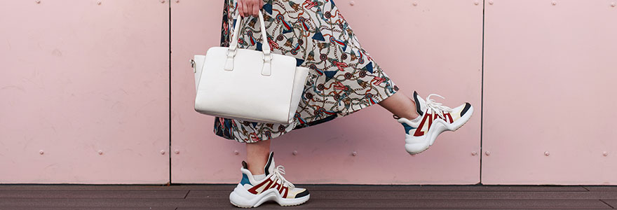 woman's sneakers